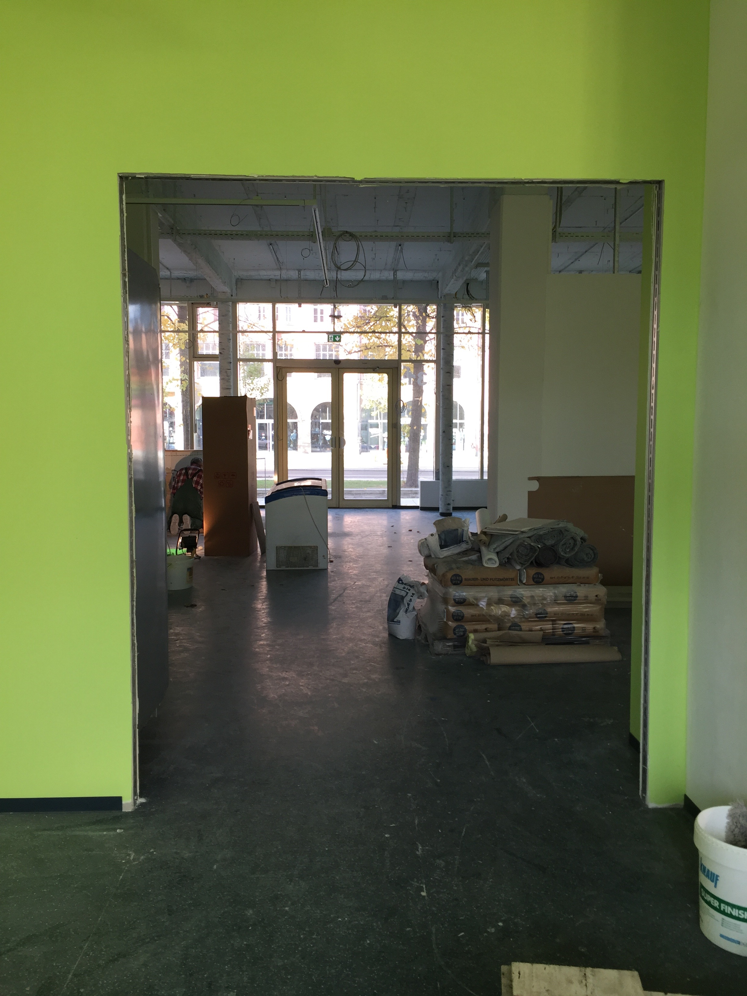 Umbau in unserem Markt in der Südvorstadt